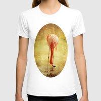 flamingo T-shirts featuring Flamingo by Kim Bajorek