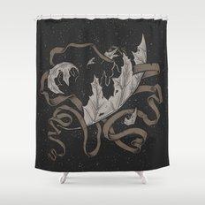 Night falling  Shower Curtain