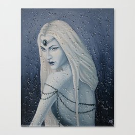 Snow Witch Canvas Print