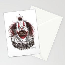 Killer Clown (Pen & Ink) Stationery Cards
