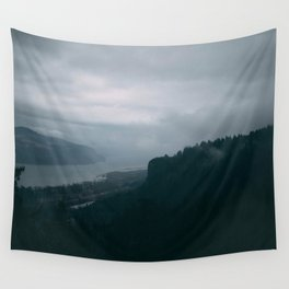Crown Point Blue Wall Tapestry