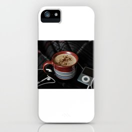 Coffee & Music iPhone Case