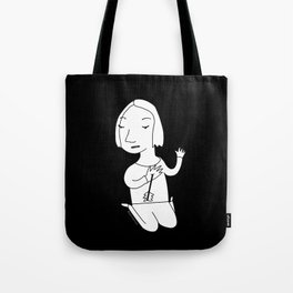 Small Wounds (white) Tote Bag