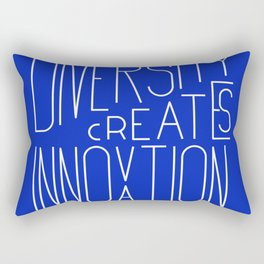 Diversity creates innovation Rectangular Pillow