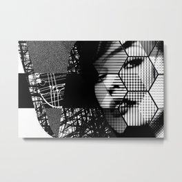 Mass Media Manipulation (M-Cubed) Metal Print