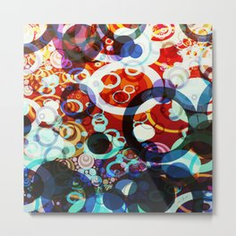 Circles Of My Mind ll #graphicdesign Metal Print