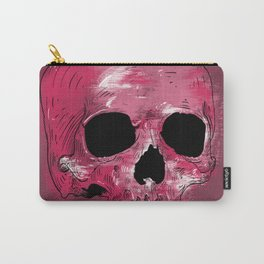 Painted neon skull Carry-All Pouch