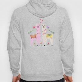 Llama Pattern Hoody