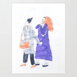 oh, look! it's so beautiful Art Print