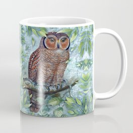 Forest Owl Coffee Mug