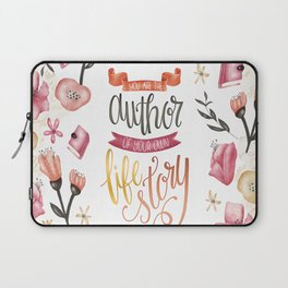 YOU ARE THE AUTHOR Laptop Sleeve