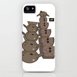Chocolate Bunny - Matrioska iPhone Case
