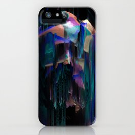 paint on Gypsum statue [10] iPhone Case