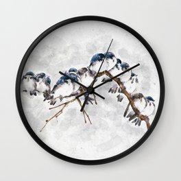 12 on a twig Wall Clock