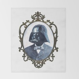 Formal Vader Throw Blanket