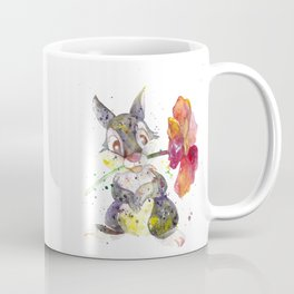 Thumper With Flower Coffee Mug