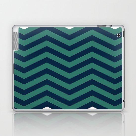 3D in Ocean Tones Laptop & iPad Skin