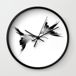 BBC Merlin: In Spite of Everything, the Stars (Twin Merlins tattoo 01) Wall Clock