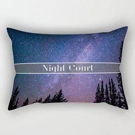 Night Court Rectangular Pillow