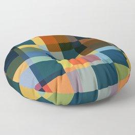 Tachash - Colorful Decorative Art Pattern Floor Pillow