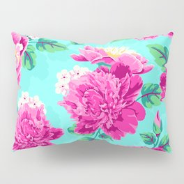 Bright Flowers Pretty Peonies Pillow Sham