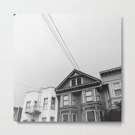 San Francsico / Houses Metal Print