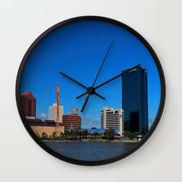 Toledo Skyline III Wall Clock