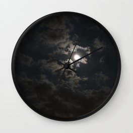 Moonlit Moment Wall Clock