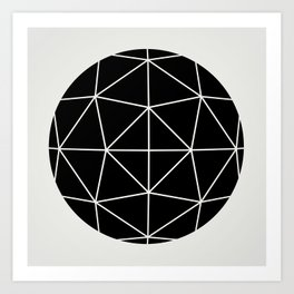 Sphere 3 Art Print