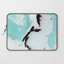blue marble agathe Laptop Sleeve