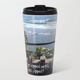 Coffee before surf Travel Mug