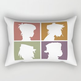 Gorillazs - Demon Days Rectangular Pillow