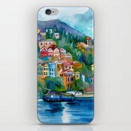 Symi island iPhone Skin