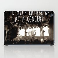 concert iPad Cases featuring Concert life by Parker Hoge