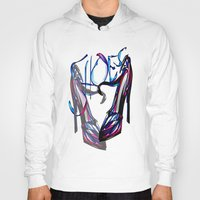 shoes Hoodies featuring Shoes by Digital-Art