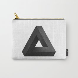 Penrose Triangle Carry-All Pouch
