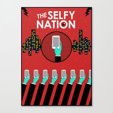 The Selfy Nation Canvas Print