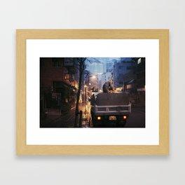 Asia 30 Framed Art Print