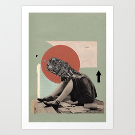 A Plan of Action Art Print