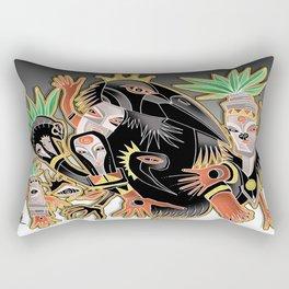 crow tribe Rectangular Pillow