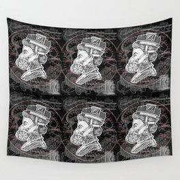 Umbrella Queen Wall Tapestry