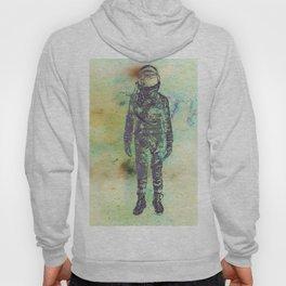 Silver Spaceman Inverted Hoody