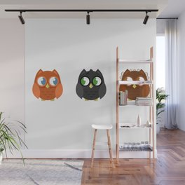 Owly Potter Wall Mural