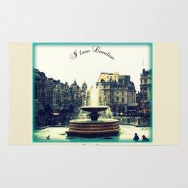 I Love London, Trafalgar Square Rug