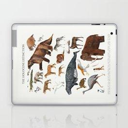 Animal chart of the Holocene extinction Laptop & iPad Skin