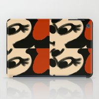 minnie mouse iPad Cases featuring Doodling Minnie Mouse by SH.drawings