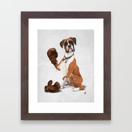 The Boxer (Wordless) Framed Art Print