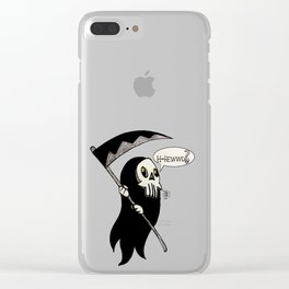 Spoopy Clear iPhone Case