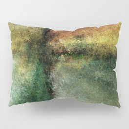 Focal Point Digital Painting Pillow Sham