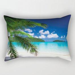 Classic Tropical Island Beach Paradise Rectangular Pillow